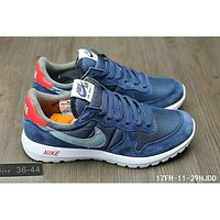 Nike MAX 90 ULTRA AIR and waffle new London second generation sports shoes F-HAOXIE-ADXJ Blue