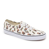 Vans Authentic Drained & Confused Shoes - Mens Shoes - White