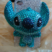 Charms Rhinestones Lovely Little Pet Animal Stitch Bling Shining Handmade Phone Case For Htc Desire HD A9191 / AT&T Htc Inspire 4G  G10