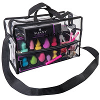 Clear PVC Water-Resistant Travel Tote Bag