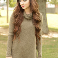 Date Night Olive Top