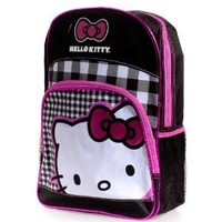 Hello Kitty Check Backpack - Kids