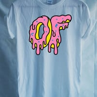 Odd Future Donut Big Dripping Donut tshirt Mens Funy T-shirt - OFWGKTA Wolf Gang Tyler The Creator Unisex Christmas Gift