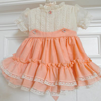 Baby Girl Dress Size 12 to 18 Month Baby Girls Birthday Party Photography