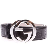 Gucci Belt Sz. 100 Leather MADE IN ITALY Man Browns 411924CWC1N -2140 PUT OFFER