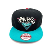 New Era x Secret Society South Beach Mavens Logo Snapback Hat Black Southbeach