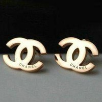 Women Girls Fashion Gold Earrings