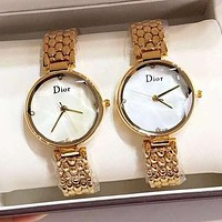 Dior High Quality Stylish Women Chic Movement Quartz Watch Wristwatch
