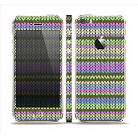 The Colorful Knit Pattern Skin Set for the Apple iPhone 5s