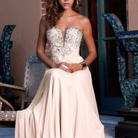 Empire Sweetheart Beading Chiffon Long Prom Dress SHAK017,2013 Spring Prom Dresses