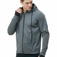 Tesla Men's Performance Long sleeve Training Full-zip Hoodie Jacket MKJ03/MKJ01