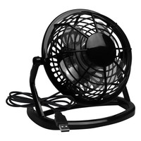 Evelots USB Powered Mini Ultra Quiet Desktop Fan, Office, Home, Powerful, Black