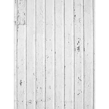 White Wash Wood Printed Floor or Backdrop - 1294