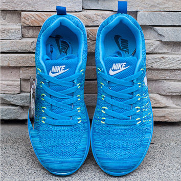 """""""Nike"""" Fashion Breathable Sneakers Sport Shoes Blue"""