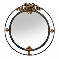 Royal Wall Mirror With Scallop Accent