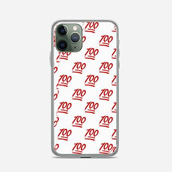 Keep It One Hunnit 100 Emoji iPhone 11 Pro Case