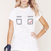 Dancer Human Graphic Tops