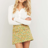 Urban Outfitters Girl Scout Sunflower A-Line Skirt - Urban Outfitters