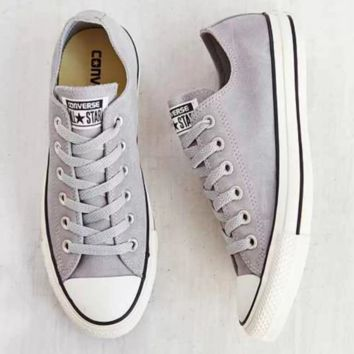 """Converse"" Fashion Canvas Flats Sneakers Sport Shoes Low tops Grey"