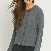 BDG Cosy Ribbed Hoodie - Urban Outfitters