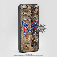 Realtree Camo Deer Rebel Phone Case For Iphone, Ipod, Samsung Galaxy, Htc