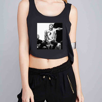 mice and men 2 for Crop Tank Girls S, M, L, XL, XXL *07*
