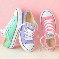 Tagre Converse Women Men Fashion Canvas Flats Sneakers Sport Shoes