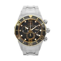 Invicta Men's Lupah Stainless Steel Chronograph Watch