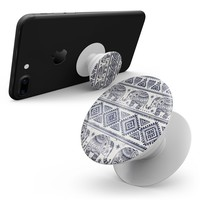 Sacred Elephant Pattern - Skin Kit for Pop Sockets and other Smartphone Extendable Grips & Stands