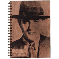 Wood Notebook Bugsy Large