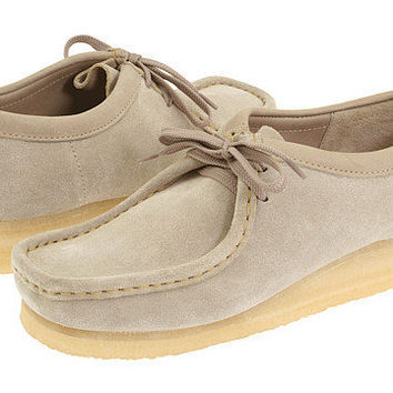 Clarks Wallabee - Mens Sand Suede - Zappos.com Free Shipping BOTH Ways