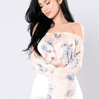 Grow My Garden Top - Floral