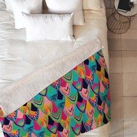 Vy La Love Birds 1 Fleece Throw Blanket