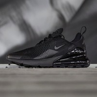 "Nike Air Max 270 ""Triple Black"" Running Shoes - Best Deal Online"