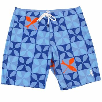 Toes on the Nose Fish & Paddle Boardshort Blue