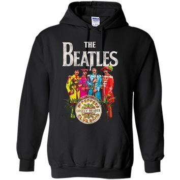 The Beatles Lonely Hearts Sergeant  Pullover Hoodie 8 oz