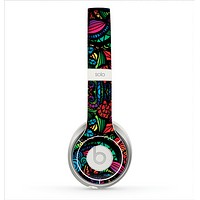 The Neon Colored Vector Seamless Pattern Skin for the Beats by Dre Solo 2 Headphones