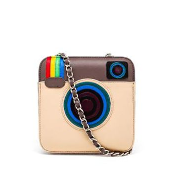 MUA MUA   Leather App Shoulder Bag   brownsfashion.com   The Finest Edit of Luxury Fashion   Clothes, Shoes, Bags and Accessories for Men & Women