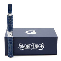The Snoop Dogg Herbal G Pen in Blue and Silver