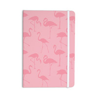 """Kess Original """"Pink On Pink"""" Animals Abstract Everything Notebook"""