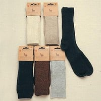 Copper Crew Alpaca Socks