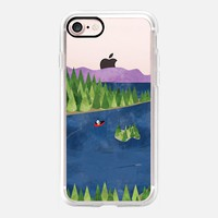 Around the lake(clear) iPhone 7 Case by Kanika Mathur | Casetify