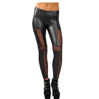 Ankle-length middle waist leggings