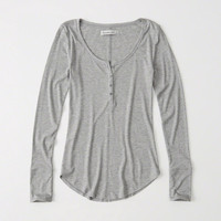 Womens Long Sleeve Henley | Womens Clearance | Abercrombie.com