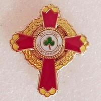 "Knight Commander of the Court of Honor 1"" KCCH Masonic Lapel Pin"