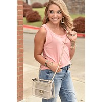 On The Go Tank - Coral