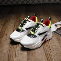 Dior Men's Leather Fashion Sport Sneakers Shoes