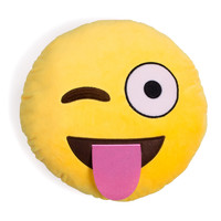 Sugar High Emoji Pillow