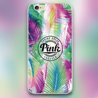 Colorful leaves Design phone transparent Hard Shell cover cases for iphone 4 5 5c 5s 6 6plus