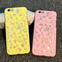 hollow out case cover for iPhone 5s 6 6s plus gift 254